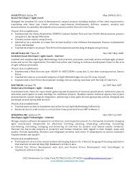 resume for software developer