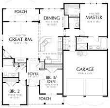 House Plans 1200 Square Feet Style House Plans 1200 Square Foot Home 1 Story 3 Bedroom And