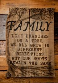 Custom Signs For Home Decor Family Rustic Recycled Pallet Wood Sign Wood By Simplypallets Like