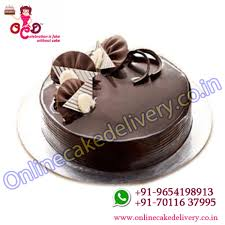 online cake delivery chocolate truffle cake in cakes to order for your dear one