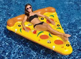 amazon com new swimline 90645 swimming pool inflatable pizza