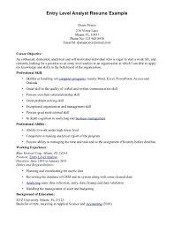 objective statement for business resume cover letter entry level business analyst resume examples entry cover letter financial analyst resume examples entry level job financial sampleentry level business analyst resume examples