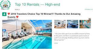 Tripadvisor 2018 travelers 39 choice top 10 winner orlando insider