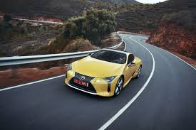 lexus coupe 2018 you can get into a 2018 lexus lc coupe for under 100k autoguide