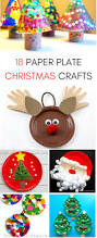 18 seasonal paper plate christmas crafts for kids to do this