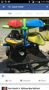 jeep kayak trailer 36 best kayak trailers images on pinterest kayak trailer