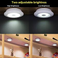 battery operated led lights for kitchen cabinets new wireless dimmable cabinet lights with remote