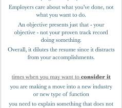 An Objective On A Resume Sweet Do I Need An Objective On My Resume 1 Should Include An