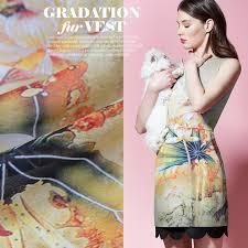 aliexpress com buy dragonflies digital printing silk linen dress