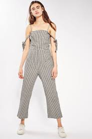gingham check jumpsuit by glamorous gingham check gingham and