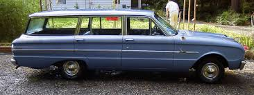 blue station wagon al u0027s u002763 ford falcon fordor station wagon