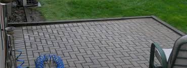 Paver Patio Edging Options Paver Patio With Wood Edging Help Doityourself Community