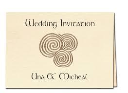celtic wedding invitations celtic wedding invitations personalised celtic wedding stationary