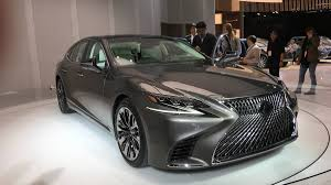 lexus ls 500 coupe lexus executives talk 2018 lexus ls500