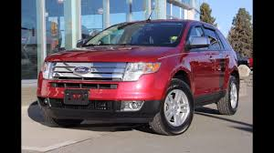 ford crossover 2007 2007 ford edge sel for sale zimmer wheaton in kamloops youtube