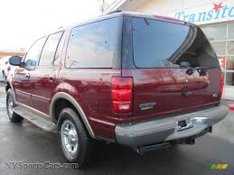 ford expedition red 2001 ford expedition eddie bauer 4x4 in dark toreador red metallic