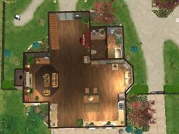 mod the sims sunny spring gardens a two story house with three