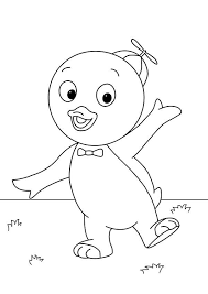 cute pablo backyardigans coloring cute