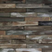Home Depot Wall Decor by Reclaimed Wood Barn Boards Appearance Planks Wall Coverings Home