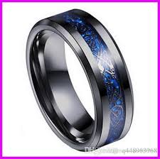 men titanium rings images B051 hot style black gold carbon fiber dragon ring jewelry men jpg