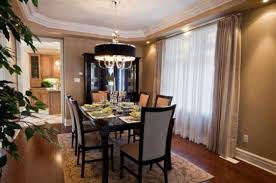 Dining Room Drapery by Beautiful Decorating A Dining Room Gallery Home Design Ideas