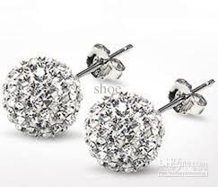 disco earrings 2017 10mm disco earrings earrings mixed colors bead