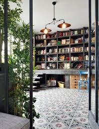 modern home library interior design interior design interesting home library designs with industrial