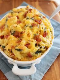 creamy spinach bacon macaroni u0026 cheese