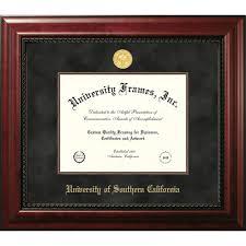 frames for diplomas of southern california diploma frames diploma display