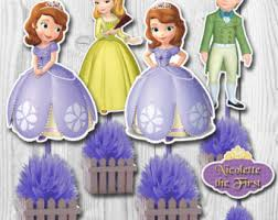 sofia the cake topper sofia toppers etsy