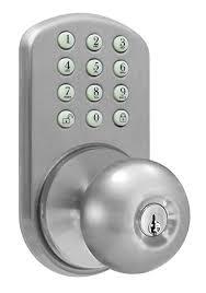 Keypad Interior Door Lock Milocks Tkk 02sn Digital Door Knob Lock With Electronic Keypad For