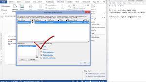 cara membuat mail merge di word 2013 cara membuat lop mailmerge di word 2013 youtube