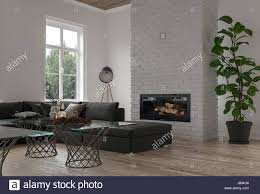 Large Modular Sofas Cozy Corner In A Modern Lounge Or Den With A Large Modular Sofa In
