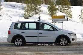 vw minivan 2014 2014 volkswagen touran mule