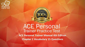 ace personal trainer manual 4th edition chapter 1 vocabulary