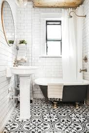 black and white bathroom design 10 gorgeous bathroom makeovers bathroom makeovers townhouse