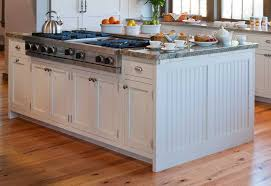 kitchen island full overlay drawer stacks should end panels
