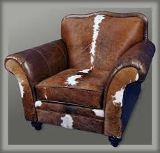 Cowhide Chair Cushions Cuero Western Club Chair Western Accent Chairs Our Popular Camel