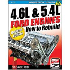 cartech sa155 mustang literature book how to rebuild 4 6 5 4l engines