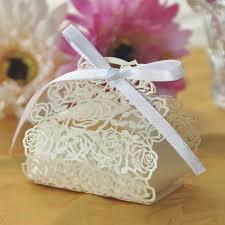 boite a gateau mariage 20 pcs lot souvenirs de mariage chine laser cut fleurs de