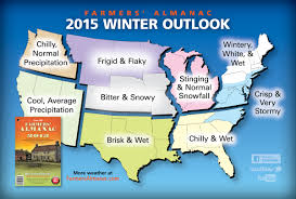 United States Snow Map by