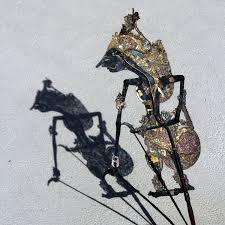 Indonesia Home Decor On Sale Shadow Puppet Wayang Kulit Java Indonesia Kresna