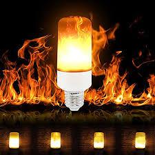 led flame effect fire light bulbs wertioo e27 2835 smd led flame effect fire light bulbs 7w flickering