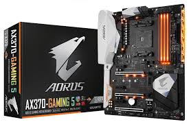 amazon com gigabyte aorus ga ax370 gaming 5 amd ryzen am4 x370