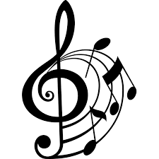 treble clef and musical notes wall sticker world of wall stickers
