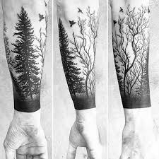 45 inspirational forest ideas forest tattoos and