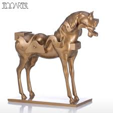 Bronze Home Decor Compare Prices On Horse Sculptures Online Shopping Buy Low Price