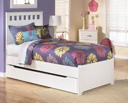 Marlo Furniture Liquidation Center by Signature Design By Ashley Lulu Twin Bed With Storage Trundle
