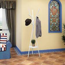 coat rack stand hanger umbrella jackets hats holder entryway