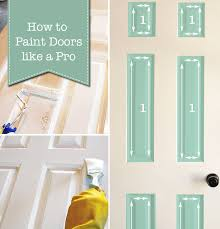 How To Spray Paint Doors - painted trim and doors can make a huge impact full details by